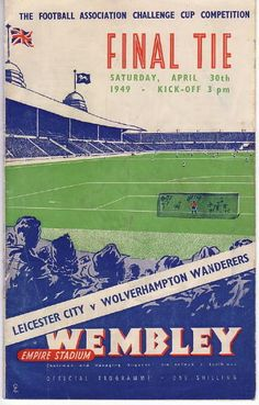 Leicester City v Wolves FAC 1949 http://dofooty.info/tonights-tip-13/# - best online odds for tonight's double.