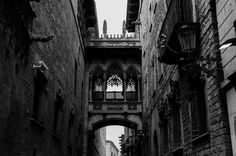 The Gothic Quarter of Barcelona - Art prints from 5€