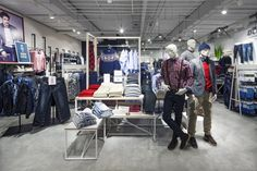 """The second installment of our """"For You"""" store concept for Nordic fashion retailer KappAhl has arrived in Gothenburg, offering female shoppers aged a more inspiring, accessible and easily navigable retail experience. Visual Merchandising, Retail Architecture, Gothenburg Sweden, Retail Concepts, Retail Experience, Branding, Sub Brands, Kids Store, Design Furniture"""