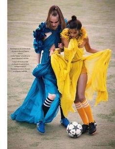gucci and soccer - gotta love it!
