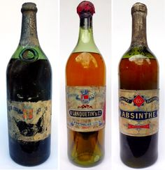 """When Parisians used to call it""""la fée verte"""" (the green fairy), thecustom of drinking absinthe hadbecame so popular in bars, bistros, cafés, and cabar"""