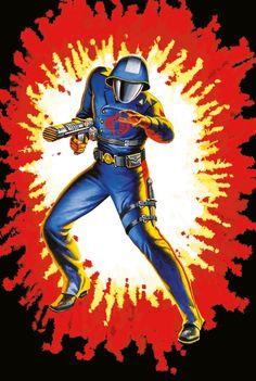 Gi joe vintage cobra commander art print on Mercari Geek Culture, Pop Culture, Gi Joe Characters, Cartoon Characters, Cobra Commander, Gi Joe Cobra, Live Action, Comic Art, Comic Book