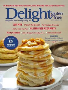 Delight Gluten FREE Magazine  for people with food allergies