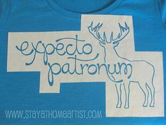 Make your own printed t-shirts (or anything fabric) with freezer paper stencils!
