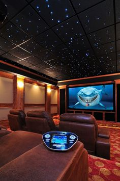 The stars come out in this home theater by Xtend Technologies. xtendav.com