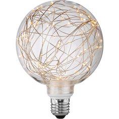 OBI LED-es dekorizzó, EEC: A, gömb alakú / 3 W (100 lm), nappali fehér