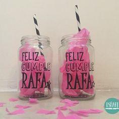 Frascos decorados - Aldea Happy, Mason Jars, Buenos Aires Argentina, Manualidades