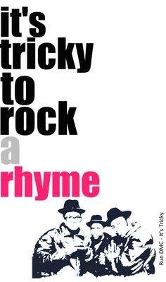 Addison's first hip hop.,Run DMC - It's Tricky - Lyrics Cool Lyrics, Music Lyrics, Nicholas Matthews, Kinds Of Music, My Music, Historia Do Rock, Pop Hits, Run Dmc, Hip Hop Art