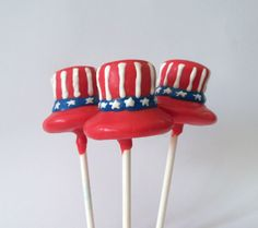 Uncle Sam Cake Pops Are a Festive Fourth of July Sweet - Foodista.com