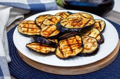 Perfectly grilled eggplant is ideal for summer cook-outs and parties. See the simple trick for keeping it tender this easy recipe.