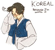 Korea :) because he is worth it!