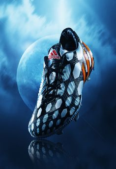#commercial #photography #shoes #football #soccer #smoke #dynamic #space #adidas #instinct