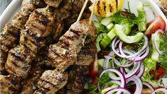 Kabob Recipes, Gazpacho, Tzatziki, Kabobs, Meatloaf, Tapas, Steak, Grilling, Bacon