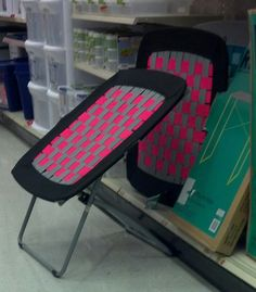 itu0027s called Room Essentials Waffle Chair (pink). & Awesome trampoline chairs at target $29.99 | Dig | Pinterest ...