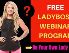 FREE Lady Boss Webinar Program [2019]: Be Your Own Lady Boss! What Is Software, Software Sales, List Of Courses, Christian Families, Increase Sales, Success And Failure, The Secret Book, Day Book, Rich People