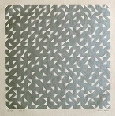 Sublime quilty inspiration from Anni Albers.