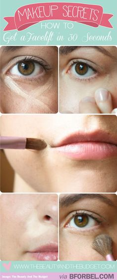 Make Up Trick: Get A Facelift In 30 Seconds With Strategic Concealer