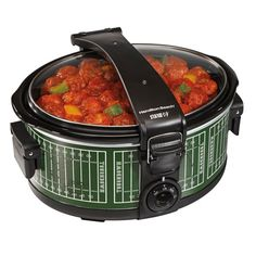This portable slow cooker is not only perfect on game days but an easy way to transfer food to any event, party or small gathering.