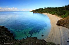 One of Romblon's hidden gems: Adagan Beach, Sibale Island, Concepcion. (Image Credit: Michael Zantua)