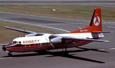 Ansett Airlines Of Australia F27-200 (VH--FCD)