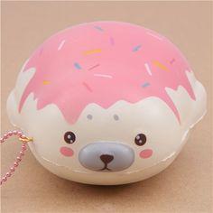 cute cream strawberry sauce mochi seal animal scented squishy by Puni Maru 2