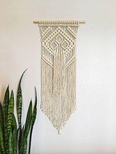 Macrame Wall Hanging / Wall Hanging / Small Wall Hanging /