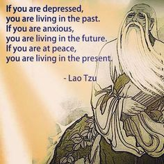 If you are at peace, you are living in the present Now Quotes, Great Quotes, Quotes To Live By, Funny Quotes, Funny Gifs, Funny Videos, Quotable Quotes, Wisdom Quotes, Life Quotes