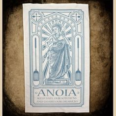 Anoia Tea Towel | Discworld Emporium   My best friend got me this for Hogswatch!