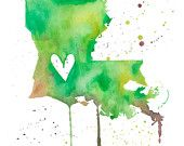 Louisiana...Most of my Family is from here :)