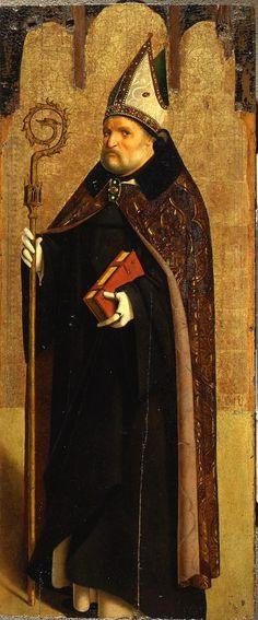 San Benedetto,di Antonello Da Messina,parte del Trittico.Collegamento permanente dell'immagine integrata