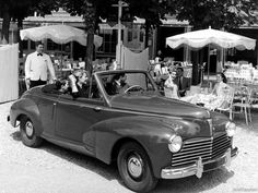 Peugeot 203 cabrio 1951 - French car