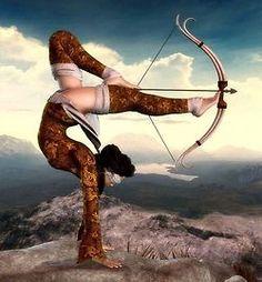 yoga warrior
