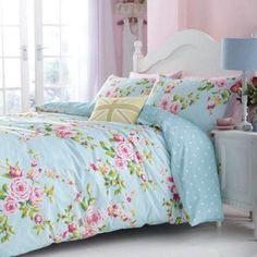 Catherine Lansfield Catherine Lansfield floral print 'Canterbury' bedding set- at Debenhams.com