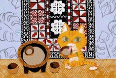 """for exhibition in 2020 """" CATrip """" Fiji, Kids Rugs, Note, Illustration, Home Decor, Decoration Home, Kid Friendly Rugs, Room Decor, Illustrations"""