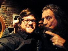 RP w/drummer, Dave Smith