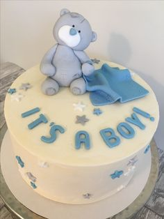 Me to you best baby shower cake