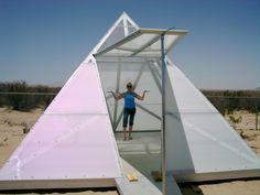 Pyramid Meditation Tent