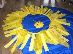 gelbe Sonne als Mandala