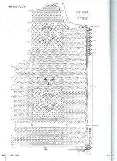 Crochetpedia: Light Jacket Patterns for crochet This Pin was discovered by Ire Let's knit series 2007 Crochet Lace kr Irish lace, crochet, crochet patterns, clothing and decorations for the house, crocheted. Crochet Woman, Love Crochet, Beautiful Crochet, Diy Crochet, Crochet Video, Crochet Chart, Crochet Stitches, Crochet Skirts, Crochet Motif