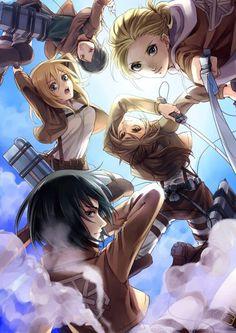 - Attack on Titan -