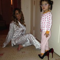 "Pin for Later: 63 Times Mariah Carey Proved She's the Most Glamorous Mom ""Those shoes are SO Monroe."""