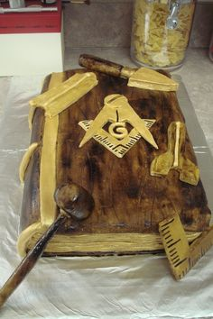 Mason's Lodge Cake