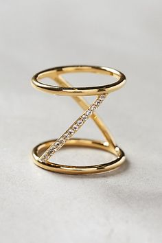Anthropologie Elizabeth and James Velde Ring #anthrofave