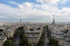 View from the Arc de Triomph, Paris