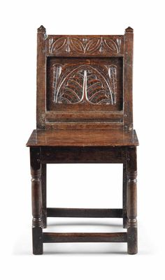 William and Mary Oak Chair