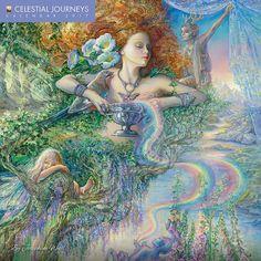 9389e95376 Celestial Journeys 2017 Wall Calendar Contemporary Artists, Fantasy Art,  Fantasy Paintings, Wall Paintings