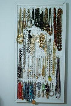 The jewelry organizer of your dreams!