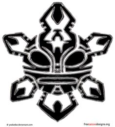 Tribal Taino Tattoo Designs