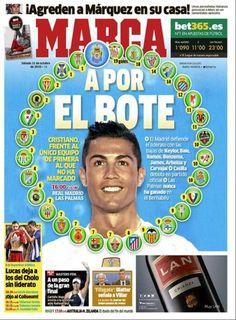 Rassegna stampa estera: Cristiano Ronaldo a caccia di record - http://www.maidirecalcio.com/2015/10/31/rassegna-stampa-estera-cristiano-ronaldo-a-caccia-di-record.html