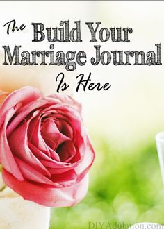 Go beyond date night with the Build Your Marriage Journal! Get 52 weeks of husband and wife journal prompts then follow them up with the weekly relationship-building activity!